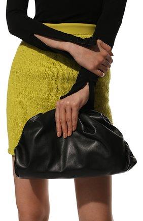 Женский клатч pouch BOTTEGA VENETA черного цвета, арт. 576227/VCP40   Фото 2