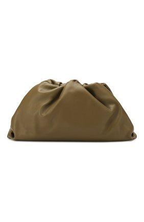 Женский клатч pouch BOTTEGA VENETA хаки цвета, арт. 576227/VCP40 | Фото 1