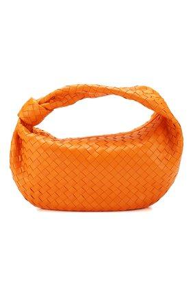 Женская сумка bv jodie small BOTTEGA VENETA оранжевого цвета, арт. 600261/VCPP0 | Фото 1