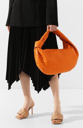 Женская сумка bv jodie small BOTTEGA VENETA оранжевого цвета, арт. 600261/VCPP0 | Фото 2