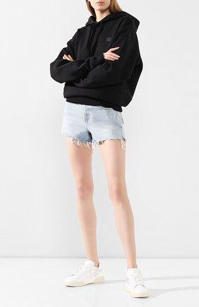 Женские кожаные кеды TOD'S серебряного цвета, арт. XXW31C0CU20N00 | Фото 2