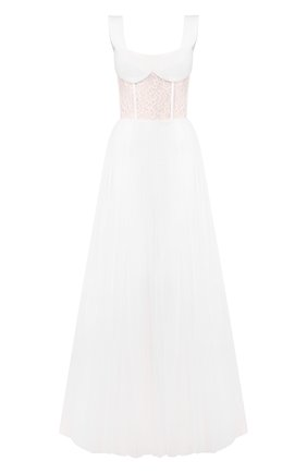 Женское платье-макси RASARIO белого цвета, арт. 0019S20_2 | Фото 1