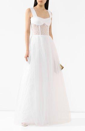 Женское платье-макси RASARIO белого цвета, арт. 0019S20_2 | Фото 2