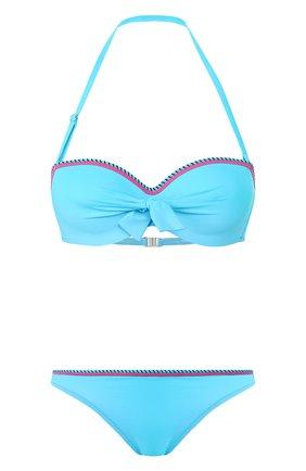 Женский раздельный купальник ANTIGEL бирюзового цвета, арт. EBA7193-EBA0793 | Фото 1