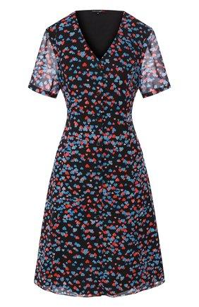 Женское платье с принтом TEREKHOV GIRL черного цвета, арт. 2D169/8122.HC900/S20 | Фото 1