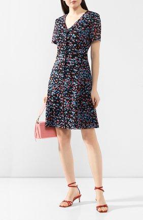 Женское платье с принтом TEREKHOV GIRL черного цвета, арт. 2D169/8122.HC900/S20 | Фото 2