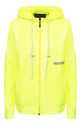 Женская куртка PHILIPP PLEIN желтого цвета, арт. S20C WRB0785 PKN002N | Фото 1