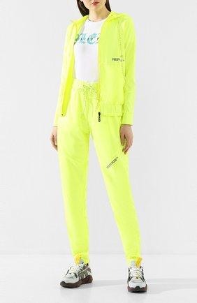 Женская куртка PHILIPP PLEIN желтого цвета, арт. S20C WRB0785 PKN002N | Фото 2