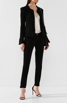 Женские джинсы FRAME DENIM черного цвета, арт. LGJ711 | Фото 2