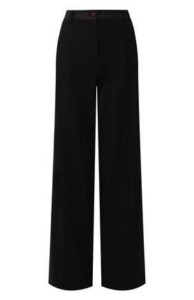 Женские шерстяные брюки DOLCE & GABBANA черного цвета, арт. FTBQRT/FUBAJ | Фото 1