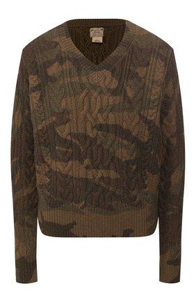 Женская свитер POLO RALPH LAUREN хаки цвета, арт. 211780371 | Фото 1