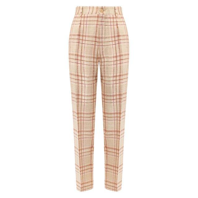 Льняные брюки Forte_forte