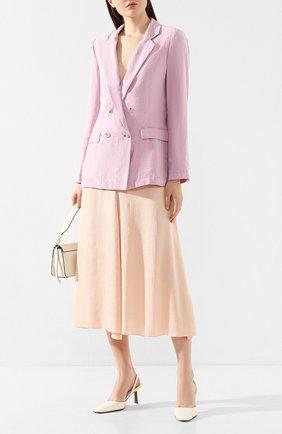Женская юбка-миди FORTE_FORTE оранжевого цвета, арт. 7054 | Фото 2