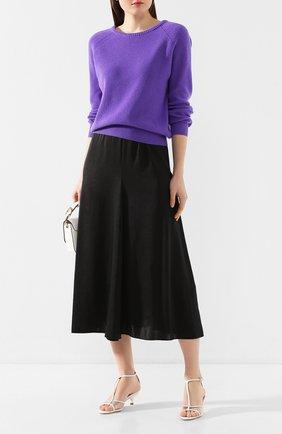 Женская юбка-миди FORTE_FORTE черного цвета, арт. 7054 | Фото 2