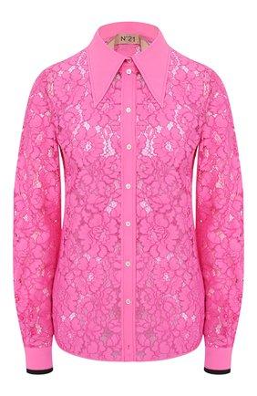 Женская блузка N21 фуксия цвета, арт. 20E N2P0/G041/4921 | Фото 1