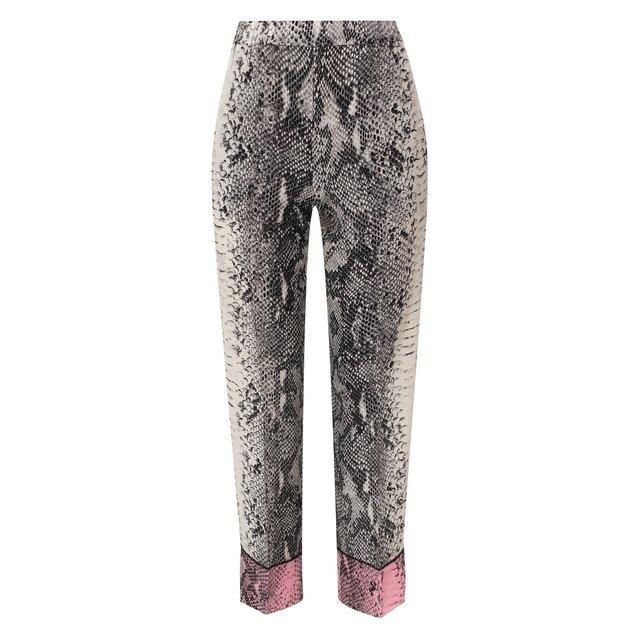Шелковые брюки N21