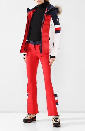 Женские утепленные брюки rossignol TOMMY HILFIGER разноцветного цвета, арт. WW0WW26373 | Фото 2