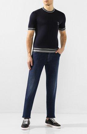 Мужские джинсы BILLIONAIRE синего цвета, арт. B20C MDT1991 BTE001N | Фото 2