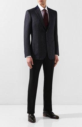 Мужской пиджак из смеси шерсти и кашемира BRIONI темно-синего цвета, арт. RGK10L/0840S/TALETE | Фото 2