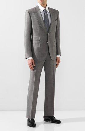 Мужской шерстяной костюм TOM FORD светло-серого цвета, арт. 722R03/21AL43 | Фото 1