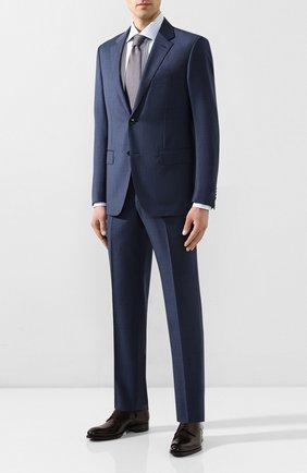 Мужской шерстяной костюм ERMENEGILDO ZEGNA синего цвета, арт. 722031/25M22Y | Фото 1