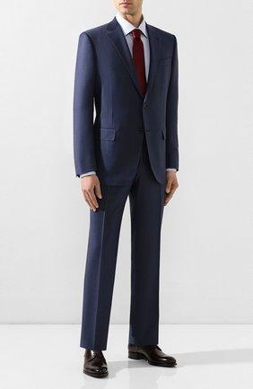 Мужской шерстяной костюм ERMENEGILDO ZEGNA синего цвета, арт. 722548/221225 | Фото 1
