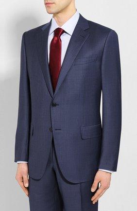 Мужской шерстяной костюм ERMENEGILDO ZEGNA синего цвета, арт. 722548/221225 | Фото 2