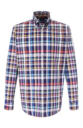 Мужская хлопковая рубашка PAUL&SHARK разноцветного цвета, арт. P20P3212 | Фото 1