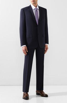 Мужской шерстяной костюм BRIONI темно-синего цвета, арт. RAH000/P9A1M/PARLAMENT0 | Фото 1