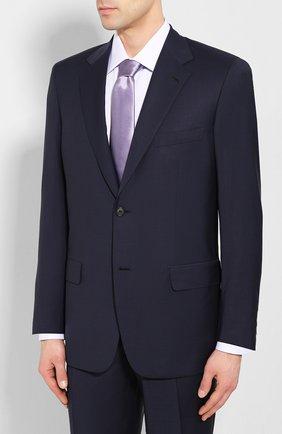 Мужской шерстяной костюм BRIONI темно-синего цвета, арт. RAH000/P9A1M/PARLAMENT0 | Фото 2