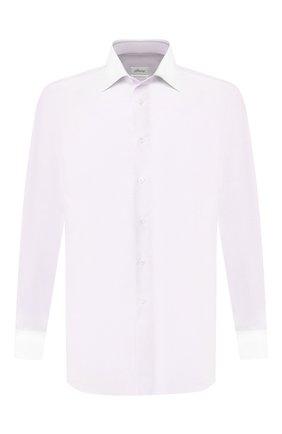 Мужская хлопковая сорочка BRIONI сиреневого цвета, арт. RCLU2J/P907E | Фото 1
