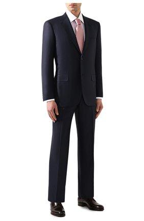 Мужская хлопковая сорочка BRIONI сиреневого цвета, арт. RCLU2J/P907E | Фото 2