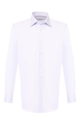 Мужская хлопковая сорочка BRIONI сиреневого цвета, арт. RCLU3K/PZ003 | Фото 1