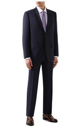 Мужская хлопковая сорочка BRIONI сиреневого цвета, арт. RCLU3K/PZ003 | Фото 2