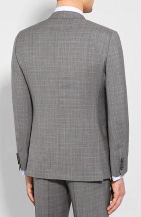 Мужской шерстяной костюм BRIONI серого цвета, арт. RA0J1M/P9A1W/BRUNIC0 | Фото 3