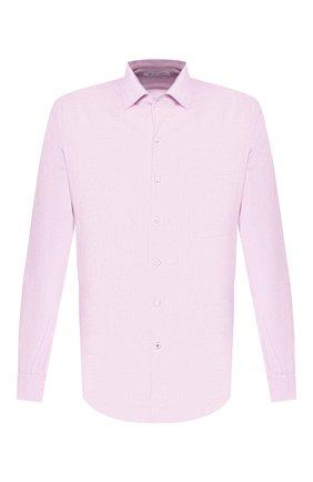 Мужская льняная рубашка LORO PIANA розового цвета, арт. FAF2545   Фото 1
