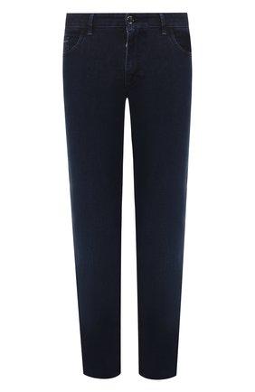 Мужские джинсы ZILLI темно-синего цвета, арт. MCT-00033-EUDC2/R001/AMIS | Фото 1