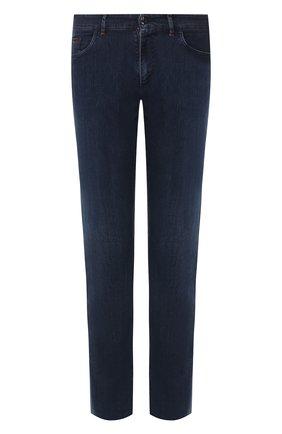 Мужские джинсы ZILLI синего цвета, арт. MCT-00033-EUDC2/R001/AMIS | Фото 1