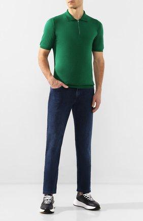 Мужские джинсы ZILLI синего цвета, арт. MCT-00033-EUDC2/R001/AMIS | Фото 2
