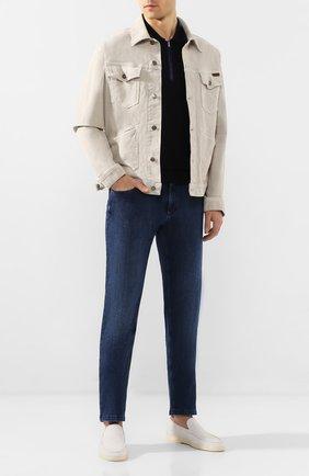 Мужские джинсы ZILLI синего цвета, арт. MCT-00042-JABC2/S001/AMIS | Фото 2