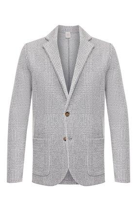 Мужской хлопковый пиджак ELEVENTY PLATINUM светло-серого цвета, арт. A76GIAA03 MAG0A034 | Фото 1