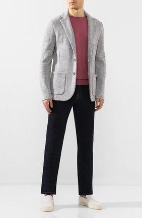 Мужской хлопковый пиджак ELEVENTY PLATINUM светло-серого цвета, арт. A76GIAA03 MAG0A034 | Фото 2