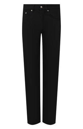 Мужские джинсы DRIES VAN NOTEN черного цвета, арт. 201-22412-9395 | Фото 1