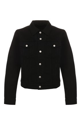 Мужская джинсовая куртка DRIES VAN NOTEN черного цвета, арт. 201-20544-9395 | Фото 1