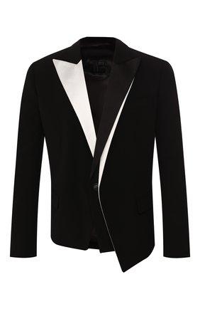 Мужской пиджак BALMAIN черно-белого цвета, арт. TH07320/V012 | Фото 1