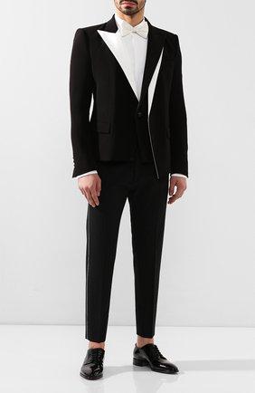 Мужской пиджак BALMAIN черно-белого цвета, арт. TH07320/V012 | Фото 2