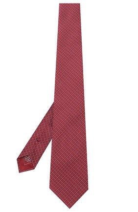 Мужской шелковый галстук BRIONI красного цвета, арт. 062I00/P941P | Фото 2