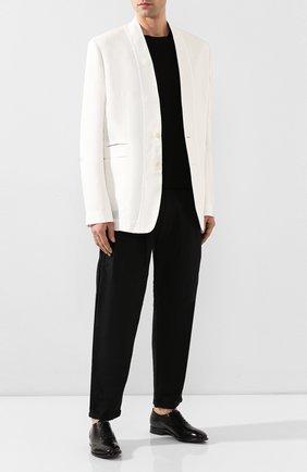 Мужские кожаные оксфорды SILVANO SASSETTI черного цвета, арт. S19971X413BDIVINER. | Фото 2