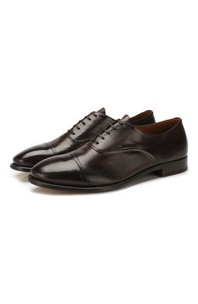 Мужские кожаные оксфорды SILVANO SASSETTI коричневого цвета, арт. S19971X413BDIVITDM. | Фото 1