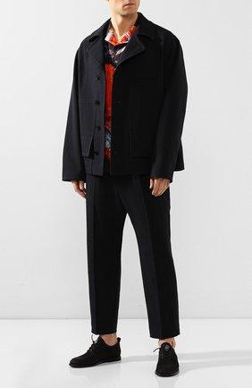 Мужские кожаные оксфорды BRUNO BORDESE черного цвета, арт. BBUCU09I | Фото 2